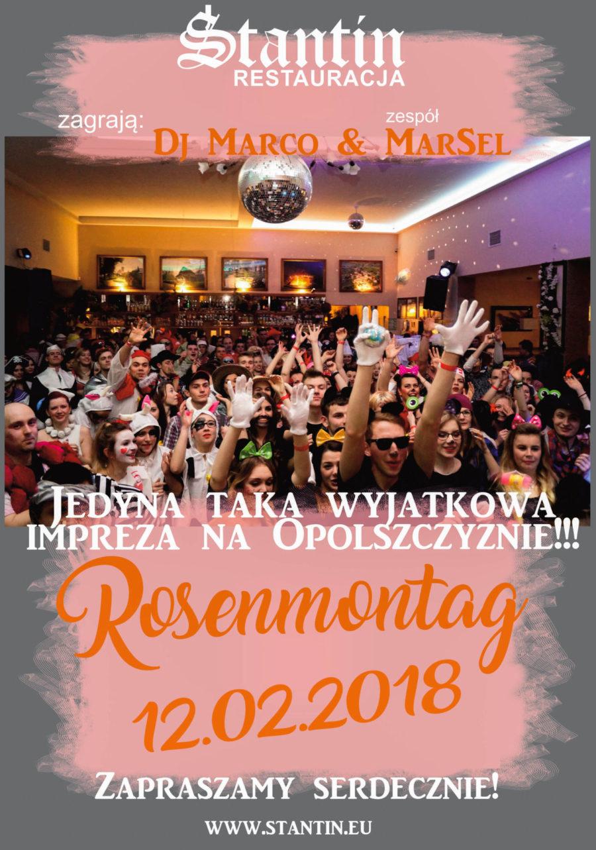 ROSENMONTAG 2018