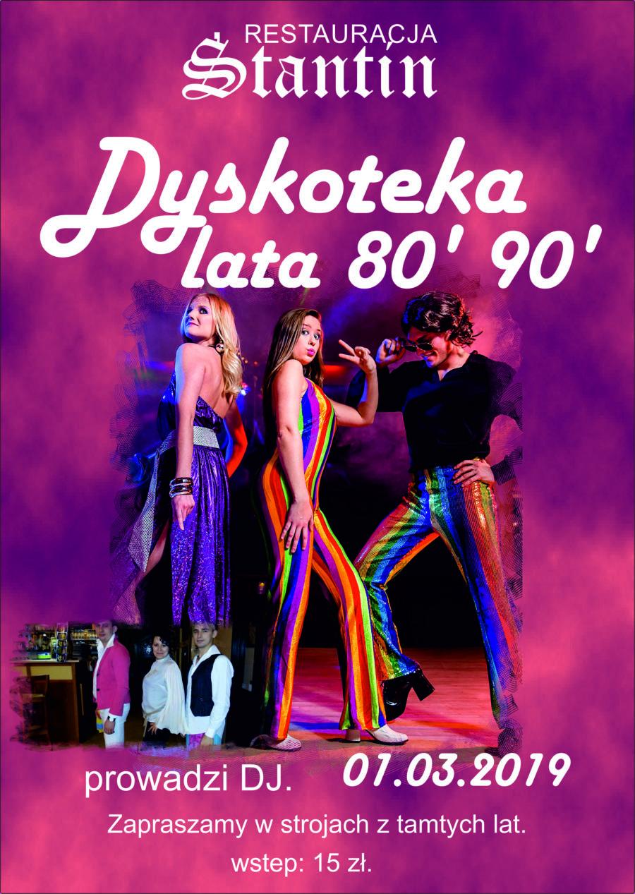 DYSKOTEKA LAT 80 /90
