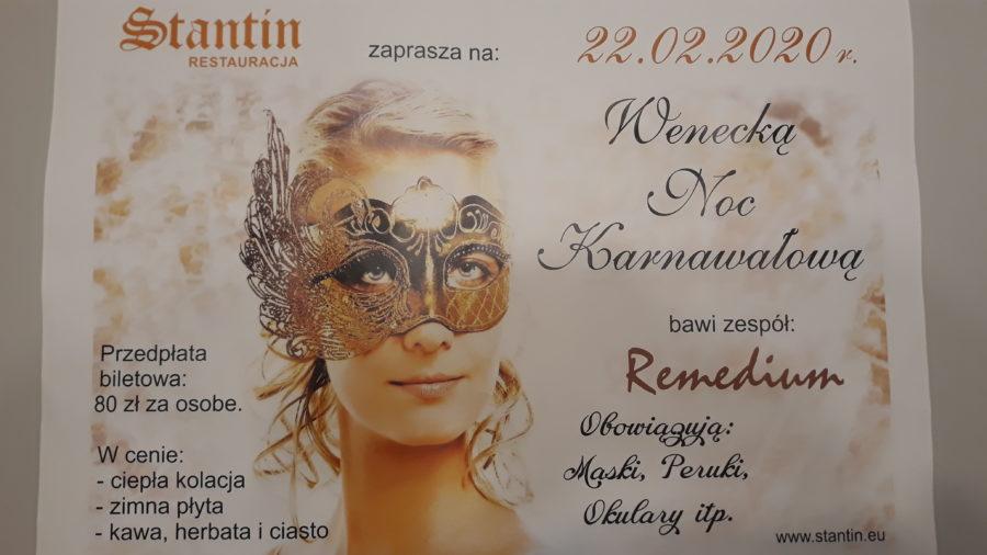 Wenecka Noc Karnawałowa